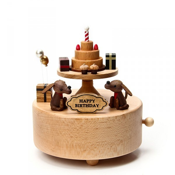 Dog Music Box