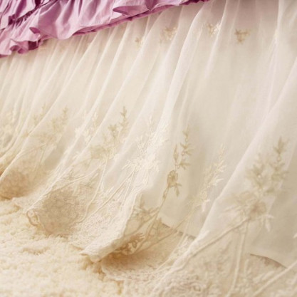 Lace Love Bed Skirt